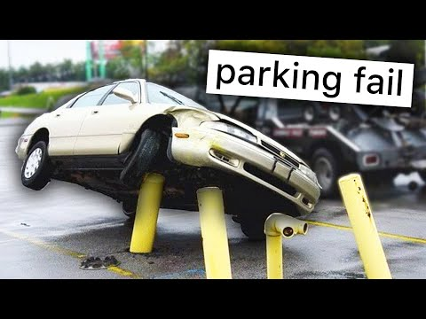 R/ThereWasAnAttempt | VALET PARKING FAIL