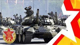 Парад Победы 9 мая в Минске. Выдвижение техники. Belarusian Army Parade, Victory Day in Minsk