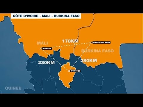 GRAND DOSSIER, SIKOBO, ZONE ÉCONOMIQUE SPÉCIALE,  CÔTE D'IVOIRE, MALI, BURKINA FASO.
