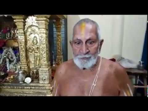 Message from Srikaryam Swami for Vande Raghavam Vibhum Competition
