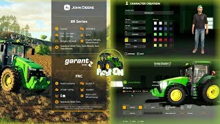 Farming Simulator 2019 | FS 19 | FactSheet | Shop | Создание Персонажа | Факт Лист | Магазин