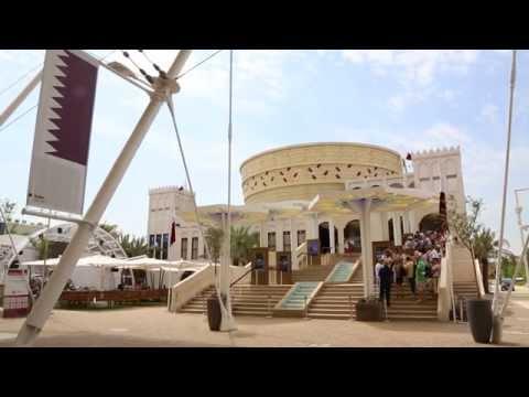 Mohammed Saeed Al-Bloshi, Qatar Expo 2015 pavilion director