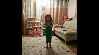 애교쟁이5살딸의 여름동요2탄