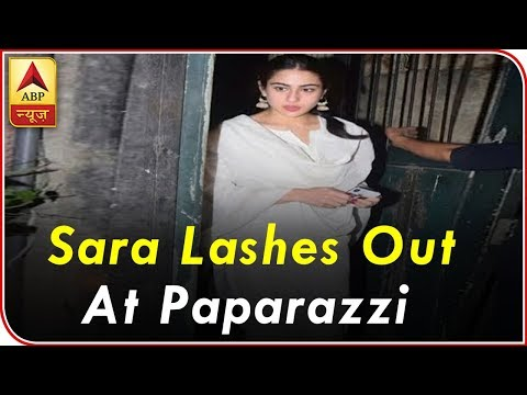 Sara Ali Khan lashes out at paparazzi for clicking her at a temple