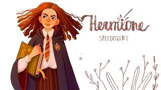 Speedpaint Hermione Granger!