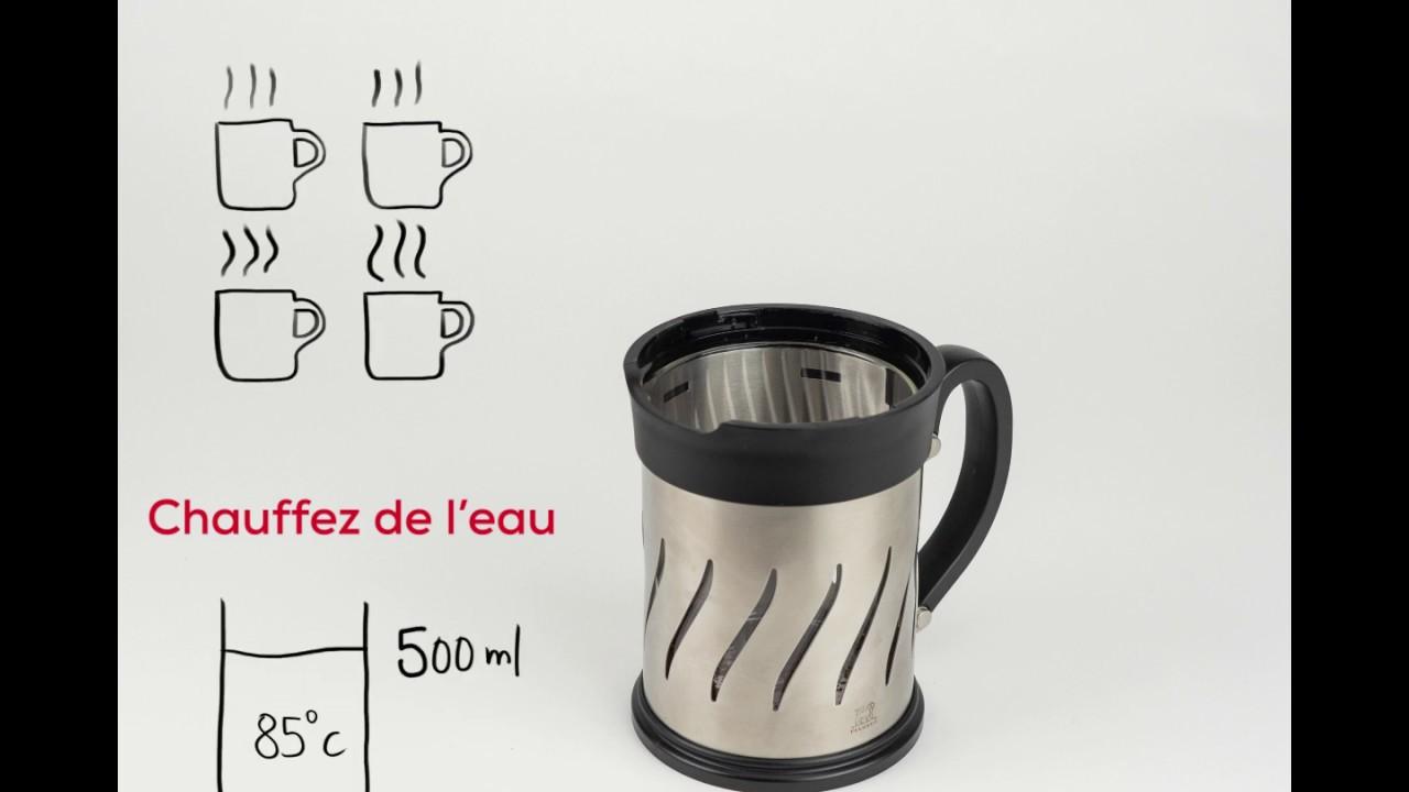 En Et Piston 2 Paris 1 Press Moulin Café À Cafetière MpUVSzGq