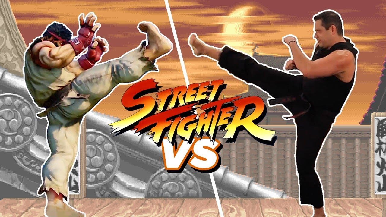 Martial Arts Experts Recreate Moves From Street Fighter