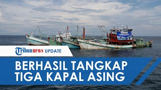 Melawan saat akan Ditangkap, 3 Kapal Vietnam Nyaris Karam