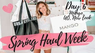 SPRING HAUL WEEK 2019 | Day 6 | Mango, Urban Outfitters, New Look | COCOA CHELSEA