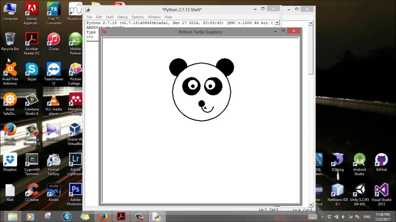 Growling Bear Face Drawing