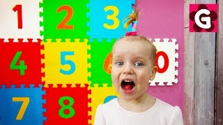 Learn Numbers and Colors for Kids / Teaching Numbers, Counting and Colors for Children