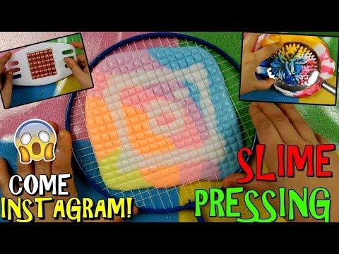 SLIME PRESSING! COME QUELLI DI INSTAGRAM!? CI RIUSCIRO' O EPIC FAIL? Iolanda sweets