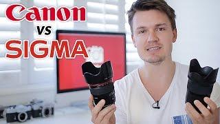 Sigma 35mm 1.4 Art vs Canon 35mm 1.4L - In Depth Comparison