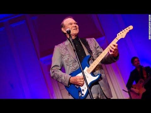Rhinestone Cowboy Singer Glen Campbell At