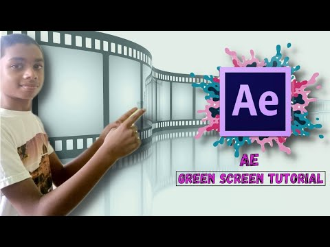 Adobe After effects greenscreen tutorial