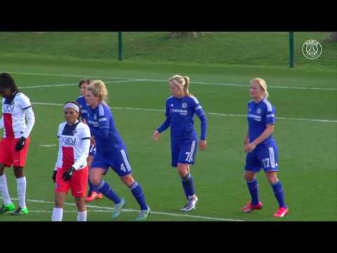 PSG 1-5 Chelsea Ladies (2016 Pre Season)