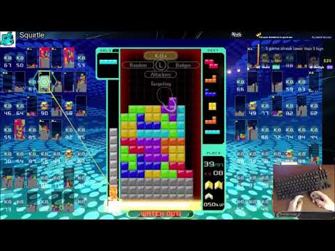 "Tetris 99 Bounty - ""No Clear By Itself"""