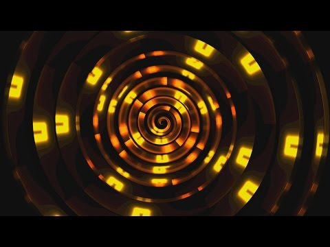 4K Orange Spiral Fire Light Dance VJ 2160p Background Video Effect thumbnail