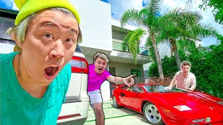 Sneaking Into Carter's house (GONE WRONG)