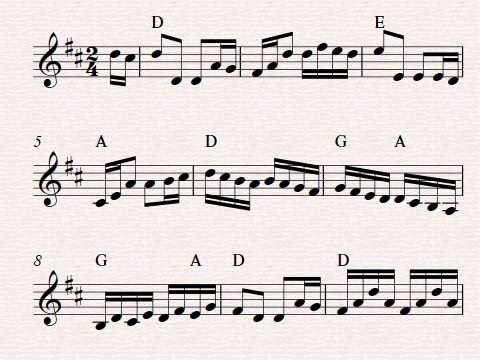 Free violin sheet music, The Sailor's Hornpipe