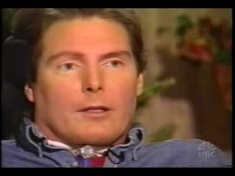 Christopher Reeve - News report on Reeve
