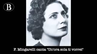 """Pippo Barzizza e i suoi cantanti. Fedora Mingarelli in """"Un"""