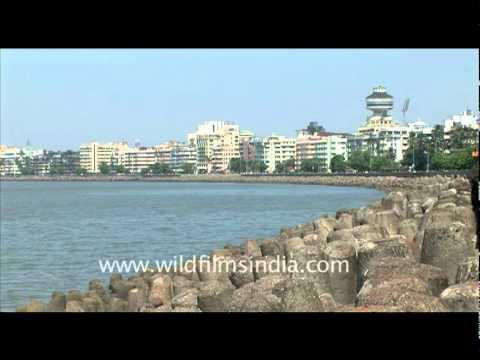 Mumbai's Marine Drive reclamation area