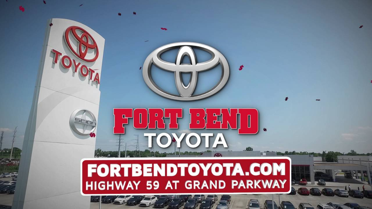 Fort Bend Toyota wants to buy your car! - YouTube