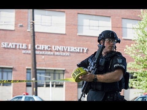 US shooting: college student disarms Seattle gunman