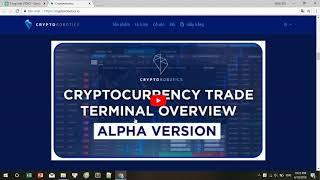 Cryptorobotics ICO REVIEW - Trạm giao dịch một cửa để trao đổi tiền điện tử
