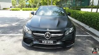 Unboxing AMG E63 S 4MATIC+ Edition 1 | EvoMalaysia.com
