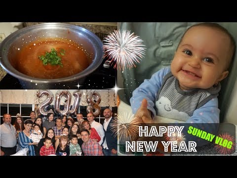 SUNDAY VLOG// NEW YEARS TRADITIONS// FAMILY FUN