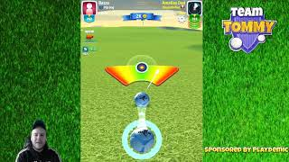 Golf Clash tips, Playthrough, Hole 1-9 - ROOKIE - TOURNAMENT WIND! Americana Classic Tournament!