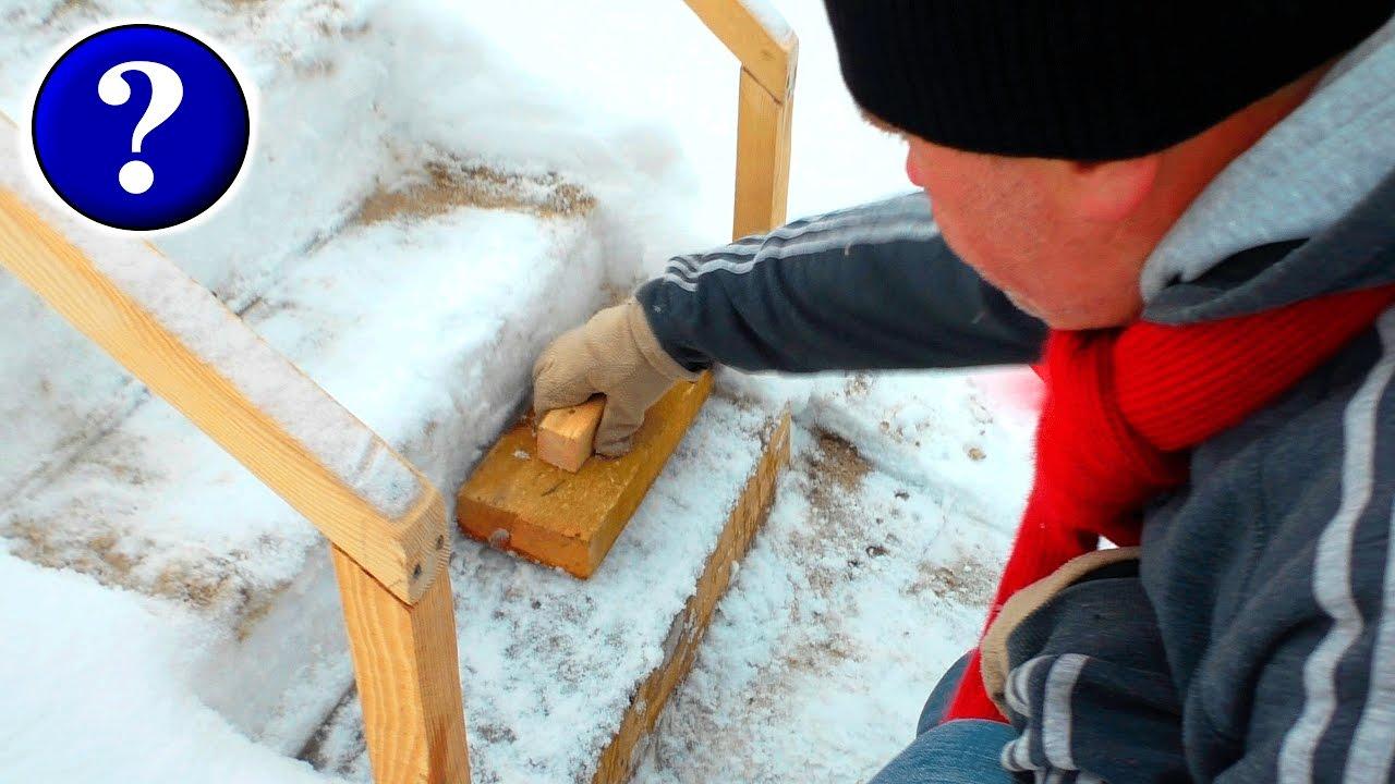 Домики ледяные своими руками фото 776