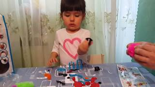 Детский конструктор ЛИПУЧКА БАНЧЕМС. Обзор игрового набора.\Bunchems MEGA 400 Toy