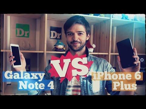 Сравнение: Galaxy Note 4 VS iPhone 6 Plus