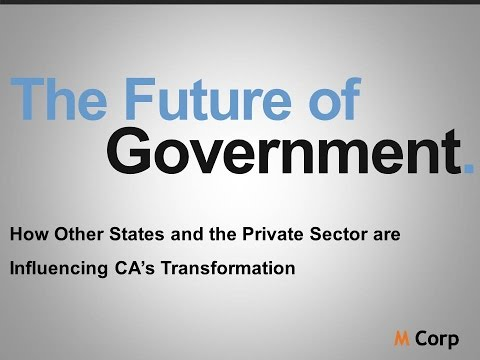 GT2016 Session 21: M Corp - The Future of Government