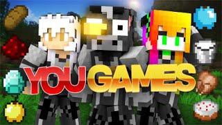 HUNGER GAMES DE YOUTUBERS | GUERRA EN YOU GAMES 30 YOUTUBERS