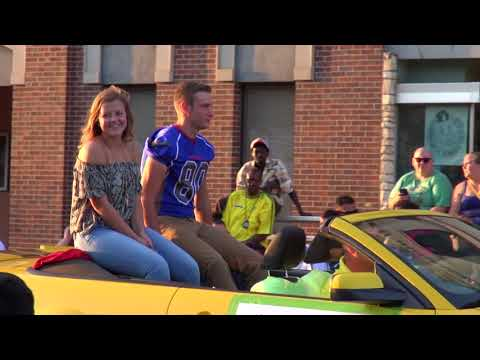 Marshalltown High School Homecoming Parade 2017