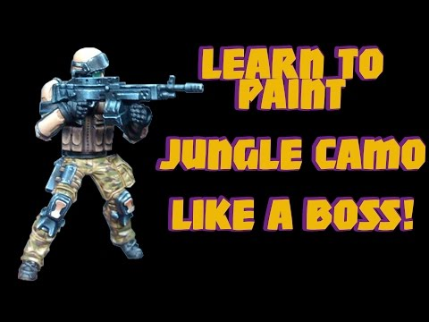 [Tutorial] - How to paint realistic Jungle Camouflage