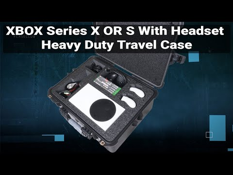 Xbox Series X & S with Headset Heavy Duty Travel Case - Video