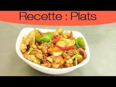plat-thaïlandais-:-recette-de-poulet-aux-noix-de-cajou