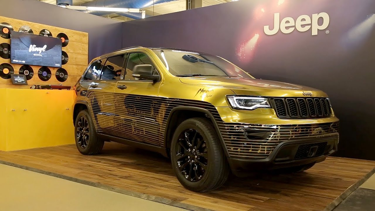 Jeep Garage Italia Customs Show Cars At Montreux Jazz Festival