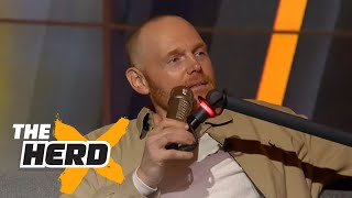 Bill Burr rips the Colts, technology, and idiots who can't turn left | THE HERD  (FULL INTERVIEW)