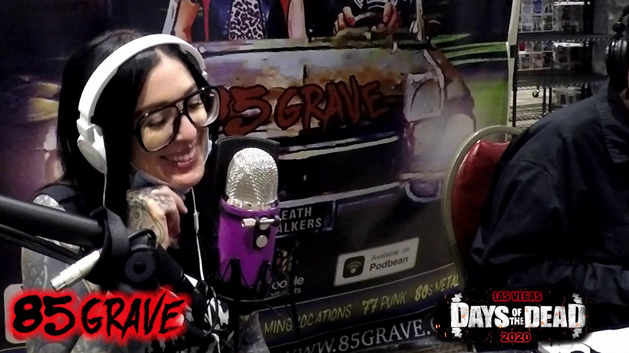 Live at Days of the Dead Horrorcon Las Vegas 10-17-2020! 85 Grave Horror Show & Podcast
