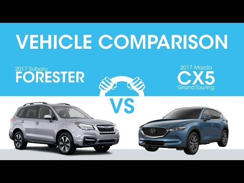Subaru Forester Vs Mazda CX-5: Which Is Better?