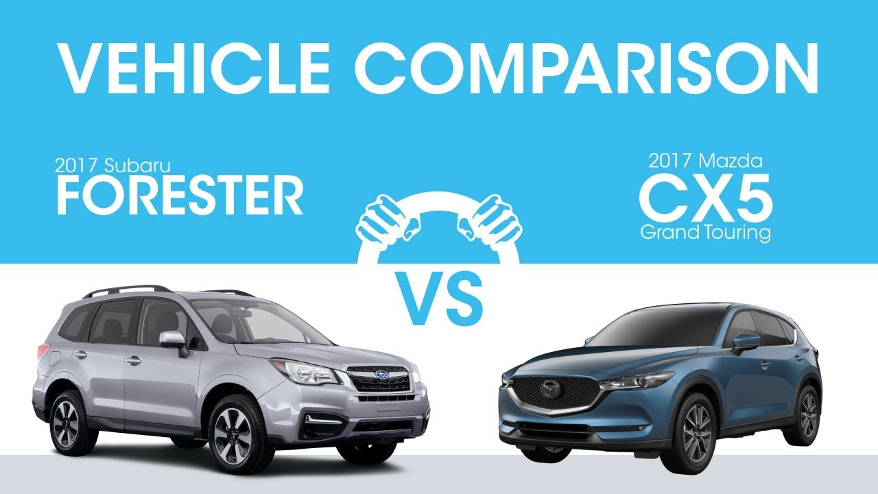 subaru forester vs mazda cx 5 which is better youtube. Black Bedroom Furniture Sets. Home Design Ideas