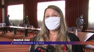 La ministre Nadia Hai à la rencontre d'associations de Mantes-la-Ville