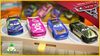 NEW Cars 3 Next Gen Racers diecast JD McPILLAR FLIP DOVER BARRY DePEDAL STEVE SLICK LaPAGE TARGET