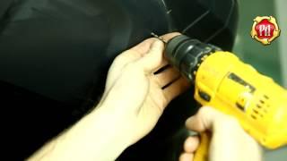 видео Рено Дастер защита переднего бампера: накладка своими руками
